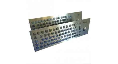 keyboard; kiosks; terminal information; industrial environment; integrated numeric keypad; optical trackball; touchpad ; hexagonal keys, KBP02002, KBP12002, KBP02005, KBP12005, KBP02021, KBP12021.